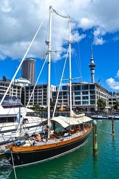 Auckland Harbor, New