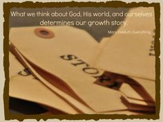 Our growth story. Created by Leigh Hudson.