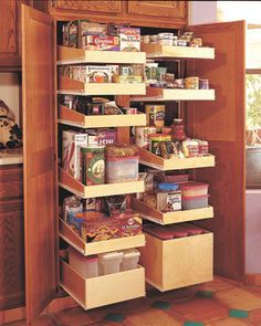 Roll out shelving contemporary cabinet and drawer organizers