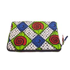 Quilted laptop sleeve by Mayamiko- Designed