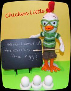 Chicken Little - free crochet pattern
