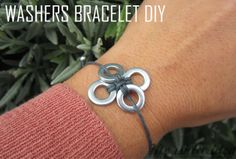WASHERS BRACELET DIY | MY WHITE IDEA DIY