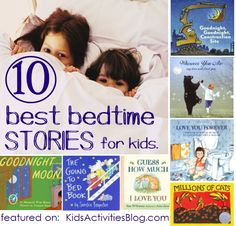 10 bedtime stories for toddlers