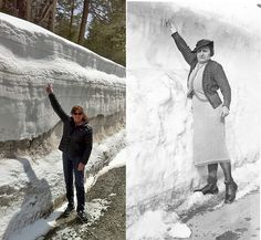 Lake Tahoe then and now