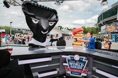 The Spokescrumbs made their debut as Little League Baseball® World Series Game Day hosts.