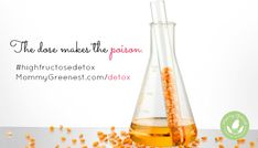 30-Day High Fructose Corn Syrup Detox - http://www.mommygreenest.com/detox/