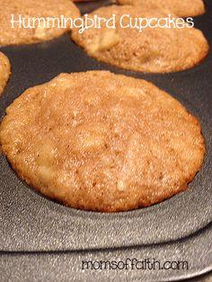 Hummingbird Cupcakes #recipe #cupcakes