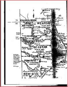 Historic Maps of Tuscarora Villages