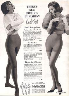 The proper way to wear Pantyhose.   As pants