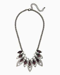 Flickering Gems Necklace   #COTM Potent Purple   #charmingcharlie