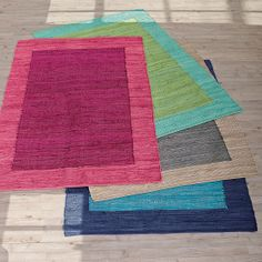 Mirage Border Rug | The Company Store