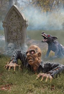 Turn your garden into a zombie retreat!