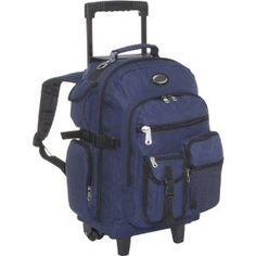 Everest Deluxe Wheeled Backpack (Apparel) http://www.amazon.com/dp/B004GIDA3Q/?tag=pindemons-20 B004GIDA3Q