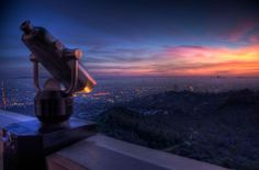 Griffith Park Observatory (LA). One of my favorite places