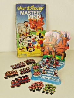 vintage Walt Disney Master Mind game - Invicta