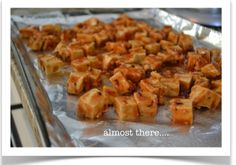 how to make tofu taste good: I had no idea about the process of removing the moisture to make the tofu crispier when baked