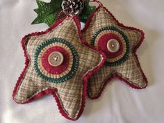 Primitive Star Ornaments