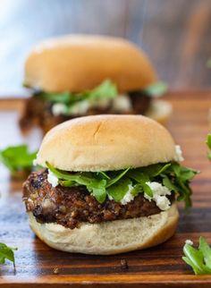 Indian Spiced Black Bean and Tofu Burgers | #Healthy #Vegetarian #MeatlessMonday #EMA