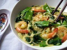 Coconut-Curry Soup with Shrimp - 7 Points Plus per serving