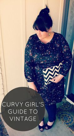 curvy girl's guide to wearing vintage
