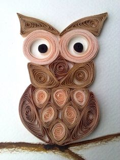 Owl Quilling