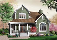 Country   House Plan 65490