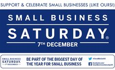 Small_business_saturday Join in and support us !