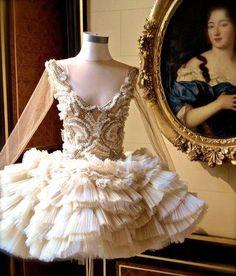 Beautiful, Intricate designed vintage tutu