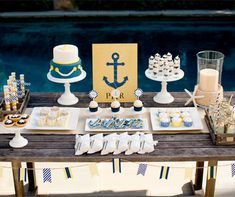 How to Plan an Anchors Away Baby Shower