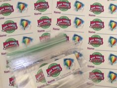 Every student in school gets a ziplock bag they can put their name on and keep at school.  They bring their box tops from home and place them bag.  I collect the bags and know which student/class to give credit to!