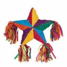 What's a fiesta without a pinata - perfect for taco tuesday or cinco de mayo