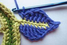 Happy flower decoration tutorial  #crochet flower