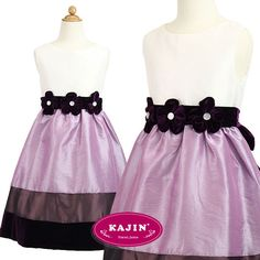 Kids Ivory Purple Gradient Layered Party Dress  Beautiful dress at only $90 with FREE International Shipping.   #dress, #purple, #ivory, #party, #girl, #kids, #formal, #party, #wedding