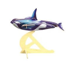 PhotoRealistic 3D Killer Whale Wooden Puzzle/Kit at theBIGzoo.com, a toy store that has shipped over 1.2 million items.