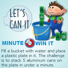 Can it minute to win it game