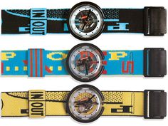 Pop Swatch. You could take this off the band & pop it onto your shirt.