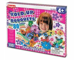 Fold-Up Paper Flower Bouquets