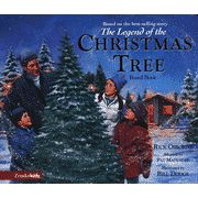 The Legend of the Christmas Tree--Boardbook