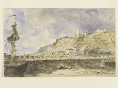 Folkestone Harbour, John Constable, 1833