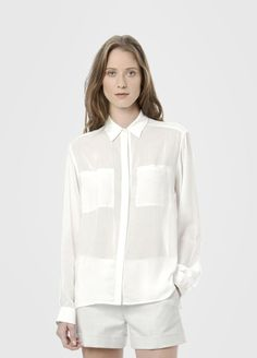 Vince  Long Sleeve Button Up