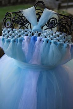 FROZEN Queen Elsa Tutu Dress by www.KatieBeesTutuFactory.com