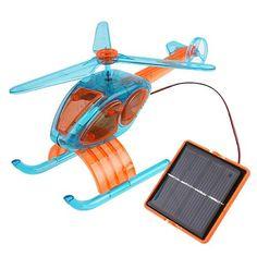 DIY Educational Solar Powered Plane