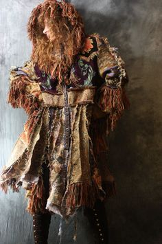 Vintage Tapestry Patchwork Hippie Gypsy Elf Fairy by MajikHorse, $825.00