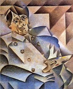 Juan Gris (1887 - 1927)   Analytical Cubism   Portrait of Pablo Picasso - 1912