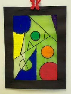 4th Grade-Frank Lloyd Wright Windows