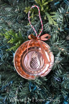 Jello mold ornament