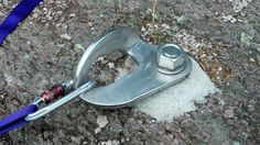 The biggest freaking bolt hanger in the universe #climbing #rockclimbing