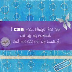 """I can say to myself, """"I have a choice to have destructive thoughts or constructive thoughts right now.  I can wallow in what's wrong and make things worse, or I can ask God for a better perspective to help me see good even when I don't FEEL good.""""    Lysa TerKeurst - page 23, Unglued"""