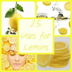 25 Uses For Lemons