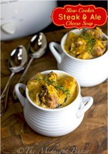 If you're in search of slow cooker soup recipes that are hearty enough to be a meal, this recipe for Slow Cooker Steak and Ale Cheese Soup f...